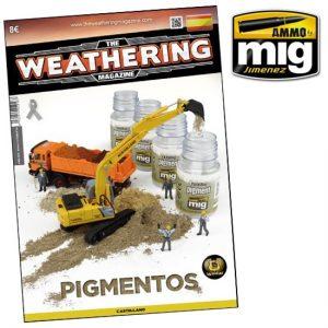 Amig 4018 The Weathering Magazine nº018 Pigmentos Los pigmentos son la mejor opción para crear efectos de tierra, suciedad, polvo y una infinidad de efectos de forma realista.