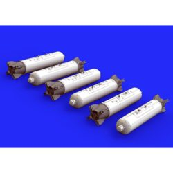 eduard brassin 648275 CBU-97 cluster bombs 1/48 Brassin para montar 6 bombas de racimo CBU-97.