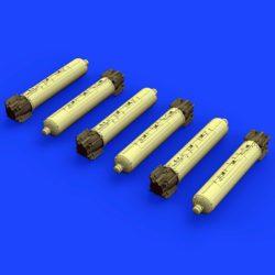 eduard brassin 672129 CBU-105 cluster bombs 1/72 Kit para montar 6 bombas de racimo CBU-105 en resina