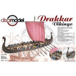 disarmodel 20164 Drakkar Vikingo 1/48 La palabra Drakkar es una transformación de un antiguo término islandés usado para designar a los dragones.