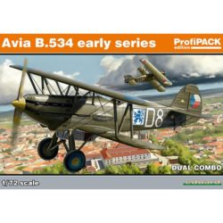 eduard 70103 Avia B-534 early series DUAL COMBO Especial 2 Kits completos en plástico para montar y pintar de la serie ProfiPACK de Eduard