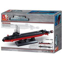 Sluban B0391 Navy Nuclear Submarine Juego de construcción por bloques de plástico compatibles con Lego y otras marcas. Una forma fácil y divertida de construir tus primeros modelos