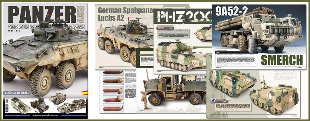 panzer aces 54 especial vehiculos modernos