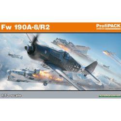 eduard 70112 Focke-Wulf Fw 190A-8/ R2 ProfiPACK Kit en plástico para montar y pintar