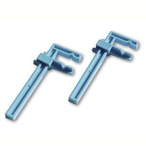 chaves 15304 Kit Sargentos Grandes 18cm El juego se compone de 2 sargentos de plástico grandes. Longitud del brazo 18cm.