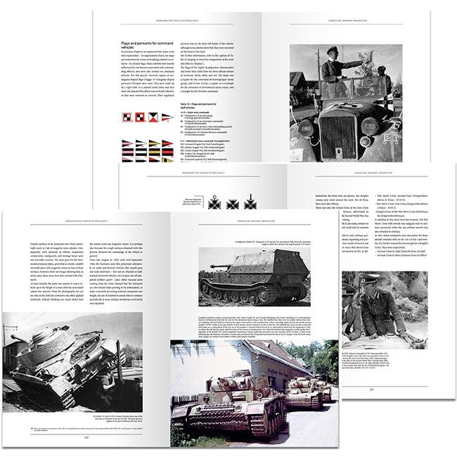 AMIG6036 Panzer ADN Vehículos Militares Alemanes de la Segunda Guerra Mundial Camuflajes, Emblemas, Organización