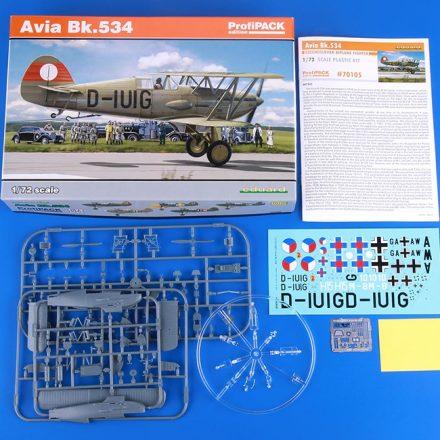 eduard 70105 Avia Bk.534 porfipack 1/72