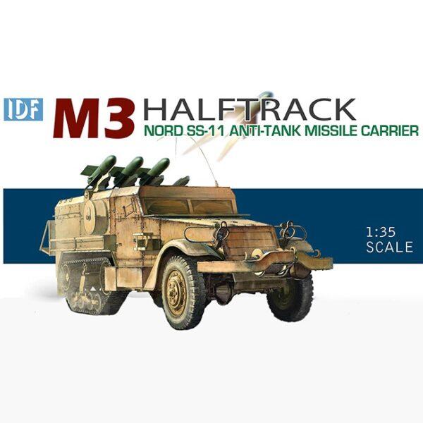 dragon 3579 IDF M3 Halftrack Nord SS-11 Anti-Tank Missile Carrier