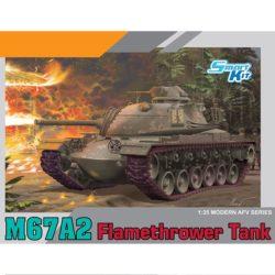 dragon 3584 M67A2 Flamedragon 3584 M67A2 Flamethrower Tankthrower Tank