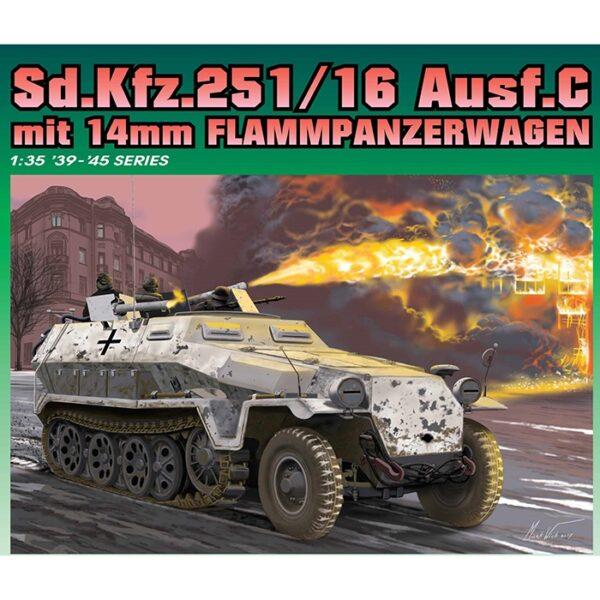 dragon 6864 Sd.Kfz.251/16 Ausf.C mit 14mm Fdragon 6864 Sd.Kfz.251/16 Ausf.C mit 14mm Flammpanzerwagenlammpanzerwagen
