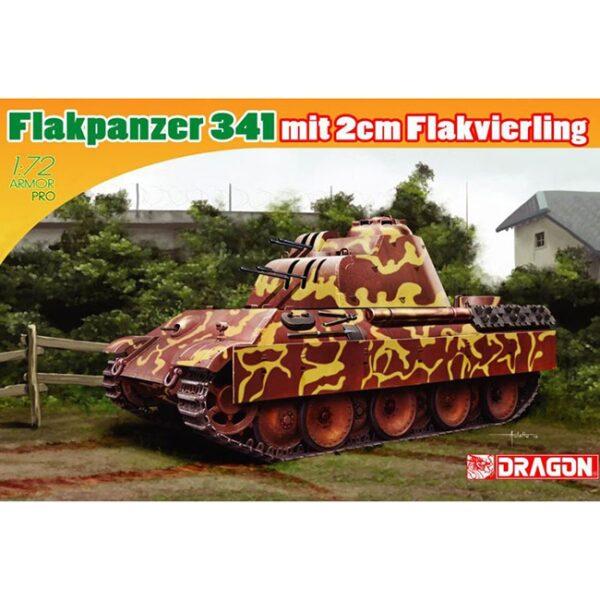 dragon 7487 Flakpanzer 341 mit 2cm Flakvierling