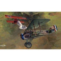 eduard 11102 Dawn Patrol DUAL COMBO Edición limitada con las maquetas de un SPAD XIII y un Fokker D.VII Kit en plástico para montar y pintar, incluyen piezas en fotograbado y mascarillas.