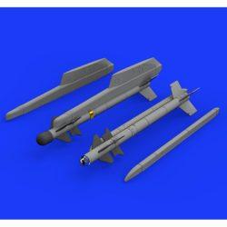 eduard brassin 648323 Matra R-550 Magic 2 1/48 El set contiene 2 misiles franceses Matra R-550 Magic 2 .