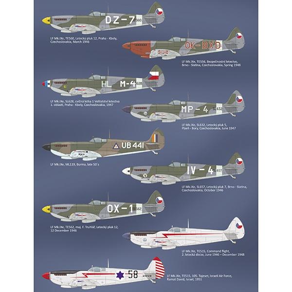 eduard 2120 Spitfire Mk.IX Nasi Se Vraceji Triple Combo