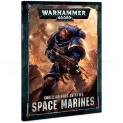 games workshop 48-01-03 Codex Adeptus Astartes Space Marines En este manual de tapa dura encontrarás todo el trasfondo y las reglas para tu ejército de Marines Espaciales
