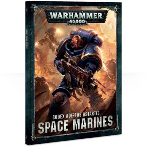 games workshop 48-01-03 Codex Adeptus Astartes Space Marines En este manual de tapa dura encontrarás todo el trasfondo y las reglas para tu ejército de Marines Espaciales