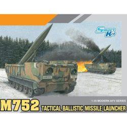 dragon 3576 M752 Tactical Ballistic Missile Launcher Kit en plástico para montar y pintar. Incluye piezas en fotograbado y cadenas por tramo y eslabón