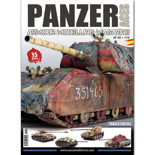 panzer aces 55 PANZER ACES VOL 055 Especial Panzer Papers