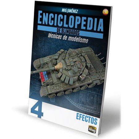 ammo mig 6163 Enciclopedia De Técnicas De Modelismo De Blindados Vol. 4 - Efectos