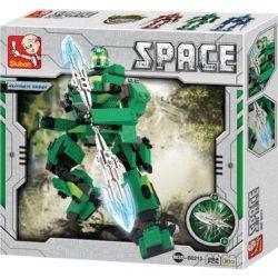 Sluban B0213 Space Ultimate Robot Ares Juego de construcción por bloques de plástico compatibles con Lego y otras marcas.
