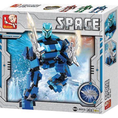 Sluban B0215 Space Ultimate Robot Poseidon Juego de construcción por bloques de plástico compatibles con Lego y otras marcas.