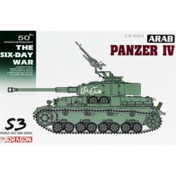 dragon 3593 Arab Pazner IV The Six Day War kit en plástico para montar y pintar.