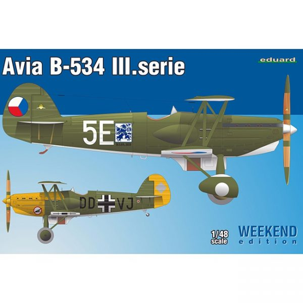 eduard 8478 Avia B-534 III.Serie Weekend Edition