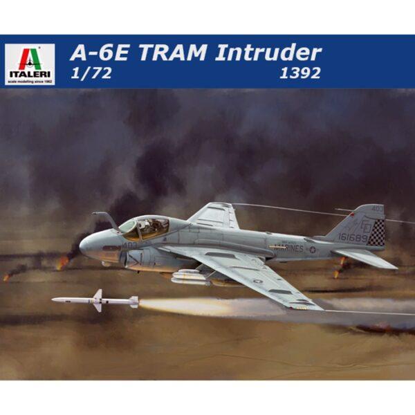 italeri 1392 A-6E TRAM INTRUDER GULF WAR Kit en plástico para montar y pintar.
