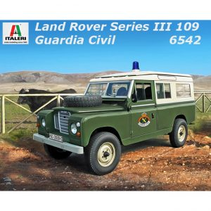 italeri 6542 LAND ROVER SERIES III 109 Guardia Civil Kit en plástico para montar y pintar.