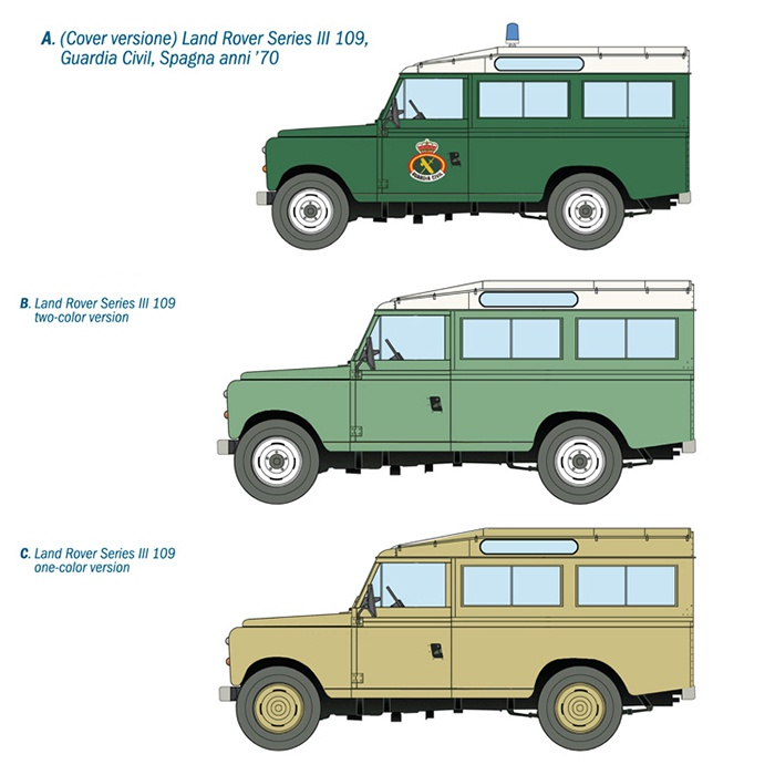 LAND ROVER SERIES III 109 Guardia Civil - Mister Model