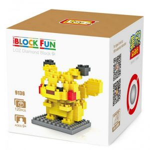 Loz 9136 Pokemon Pikachu 120pcs Construye y colecciona con los bloques de Loz, tus personajeLoz 9136 Pokemon Pikachu 120pcs Construye y colecciona con los bloques de Loz, tus personajes favoritos.s favoritos.