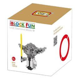Loz 9336 Star Wars Yoda 190pcs Construye y colecciona con los bloques de Loz, tus personajes favoritos.