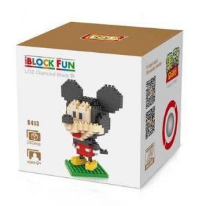 Loz 9413 Mickey Mouse 240pcs Construye y colecciona con los bloques de Loz, tus personajes favoritos.