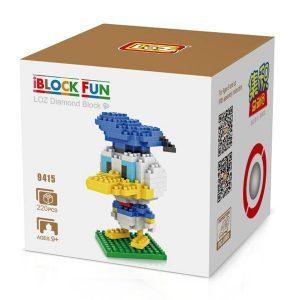 Loz 9415 Donald Duck 220pcs Construye y colecciona con los bloques de Loz, tus personajes favoritos.