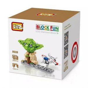 Loz 9530 Star Wars Yoda & Fighter 390pcs Construye y colecciona con los bloques de Loz, tus personajes favoritos.