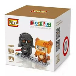 Loz 9533 Star Wars Dart Vader & Ewok 400pcs Construye y colecciona con los bloques de Loz, tus personajes favoritos.