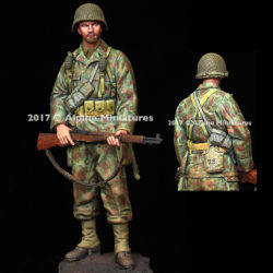 alpine miniatures 16037 US Armored Infantry 2AD Normandy