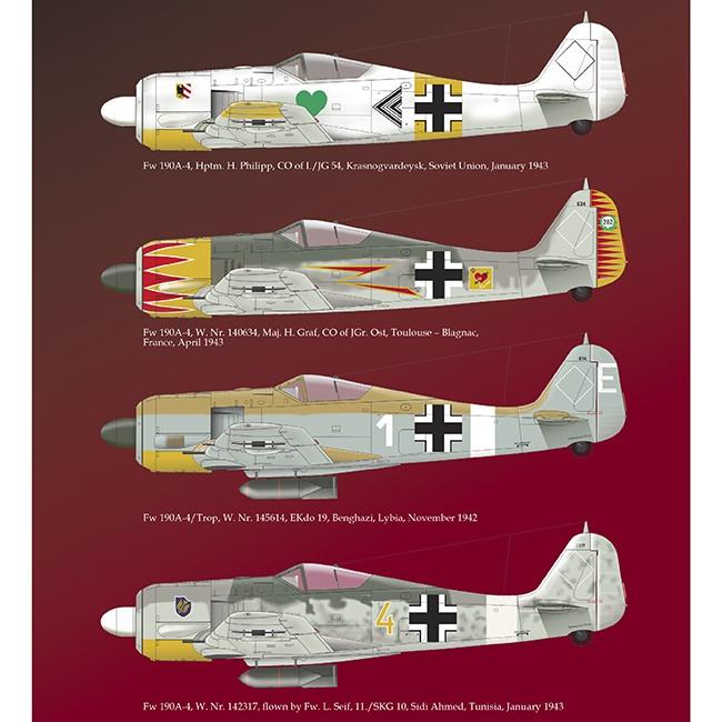 eduard r0016 Focke Wulf Fw 190A early versions Royal Class Kit en plástico para montar y pintar en edición limitada. La caja contiene dos kits completos