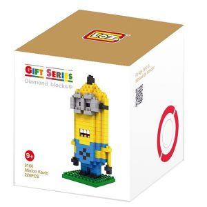 Loz 9160 Minion Kevin 220pcs Construye y colecciona con los bloques de Loz, tus personajes favoritos.
