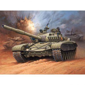 revell 03149 Soviet Battle Tank T-72 M1 Kit en plástico para montar y pintar.