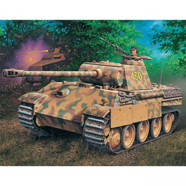 revell 03171 PzKpfw V PANTHER Ausf.G Sd.Kfz. 171 Kit en plástico para montar y pintarrevell 03171 PzKpfw V PANTHER Ausf.G Sd.Kfz. 171 Kit en plástico para montar y pintar
