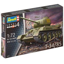revell 03302 Russian T-34/85 Kit en plástico para montar y pintar.