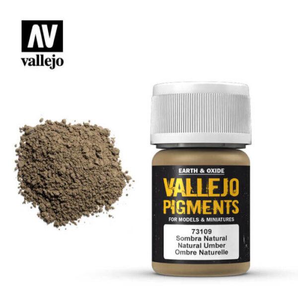 acrylicos vallejo 73109 Pigmento Vallejo Sombra Natural 35ml Los pigmentos de Acrylicos Vallejo son una selección de tierras naturales y pigmentos sintéticos elegidos en función de su permanencia y resistencia a la luz.