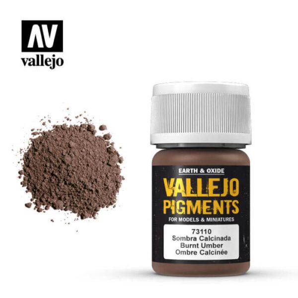 acrylicos vallejo 73110 Pigmento Vallejo Sombra Calcinada 35ml Los pigmentos de Acrylicos Vallejo son una selección de tierras naturales y pigmentos sintéticos elegidos en función de su permanencia y resistencia a la luz.
