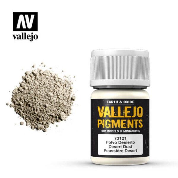 acrylicos vallejo 73121 Pigmento Vallejo Polvo Desierto 35ml Los pigmentos de Acrylicos Vallejo son una selección de tierras naturales y pigmentos sintéticos elegidos en función de su permanencia y resistencia a la luz.