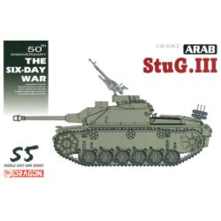 dragon 3601 Arab StuG.III Ausf.G The Six Day War Kit en plástico par amontar y pintar. Incluye piezas en fotograbado. Piezas 370+
