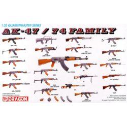 dragon 3802 AK-47/74 Family Part 1 Kit en plástico para montar y pintar. Incluye diferentes modelos de la familia de fusiles de asalto soviéticos AK-47/74 ( 2 unidades de cada modelo)