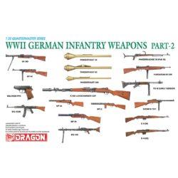 dragon 3816 WWII German Infantry Weapons Part 2 Kit en plástico para montar y pintar. Incluye diferentes armas alemanas de la 2ª Guerra Mundial ( 2 unidades de cada modelo)