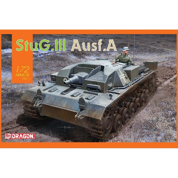 dragon 7557 StuG.III Ausf.A Kit en plástico para montar y pintar
