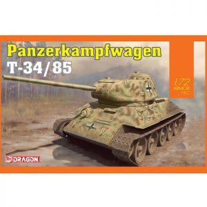 dragon 7564 Panzerkampfwagen T-34/85 Kit en plástico para montar y pintar. Dos opciones de decoración